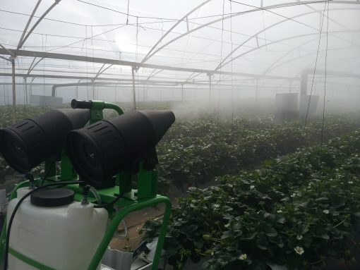 ulv application in greenhouse